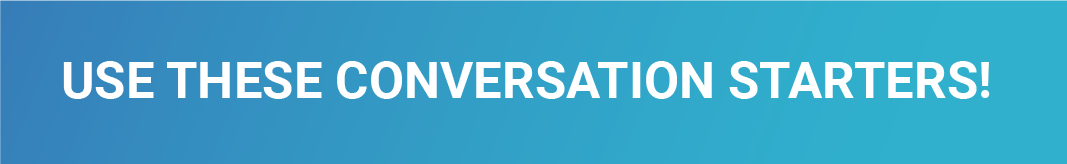 Read more about conversation starters