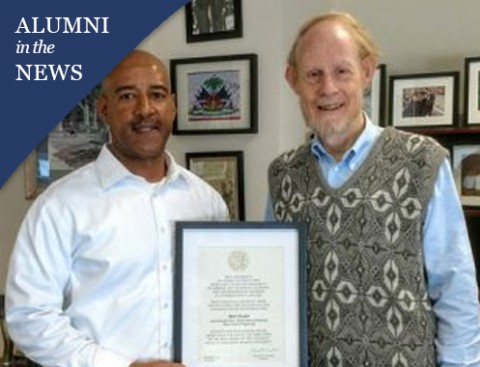 Rice Board of Trustees honors Bart Sinclair '73