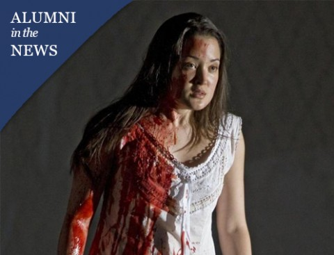 "Anna Christy '98 featured for her performance in the classic Italian opera ""Lucia di Lammermoor"""