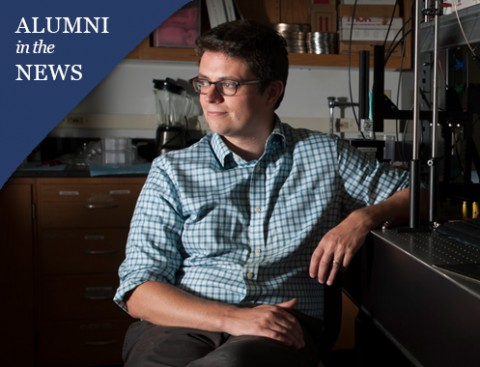 Darren Roblyer '09 developing new technology for tumors